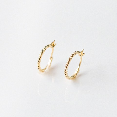 AUDREY HOOP EARRINGS