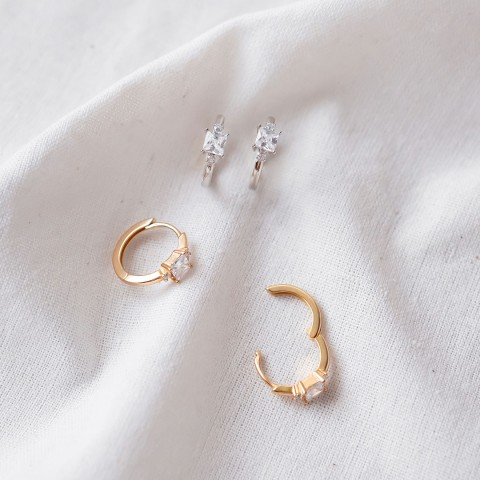 ALORA HOOP EARRINGS