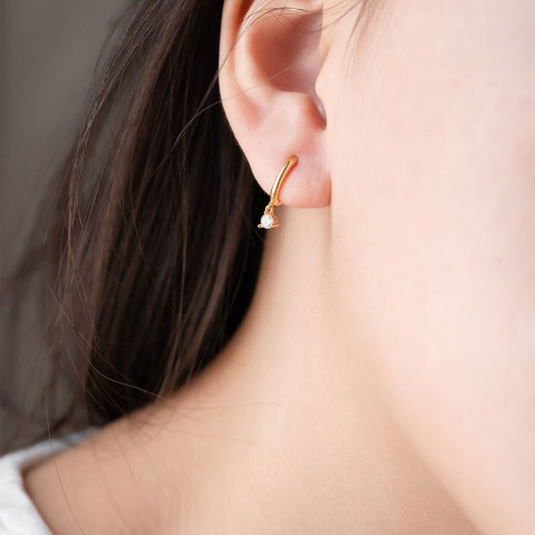 REVA HOOP EARRINGS