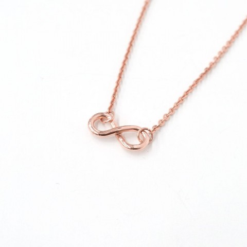 [REAL GOLD] INFINITY KNOT NECKLACE