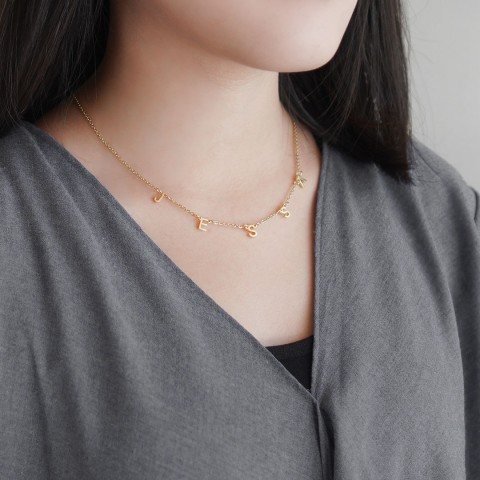 INITIALINK NECKLACE