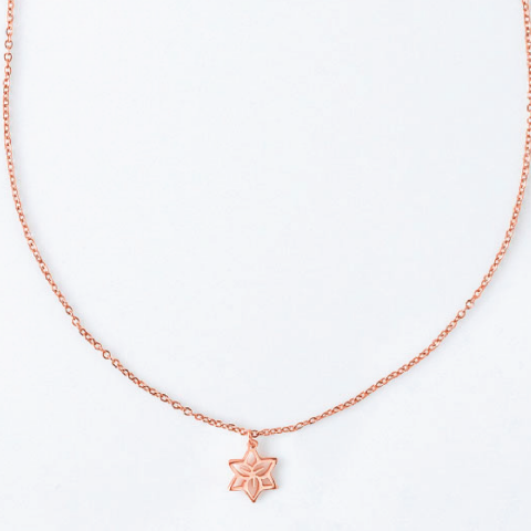 LILY MAY BIRTHFLOWER NECKLACE