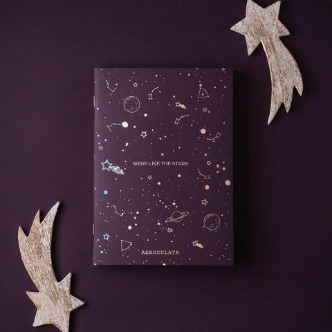 SHINE STARS NOTEBOOK A5